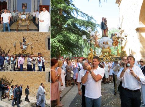 Procesión Virgen del Molino