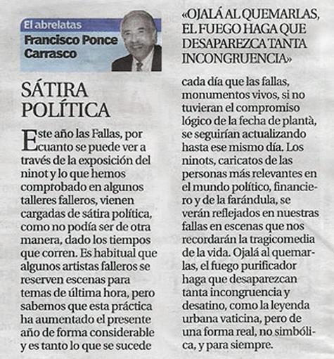 El Abrelatras -Fallas 2019