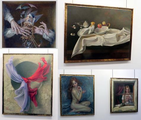 Pinturas de Alex Alemany