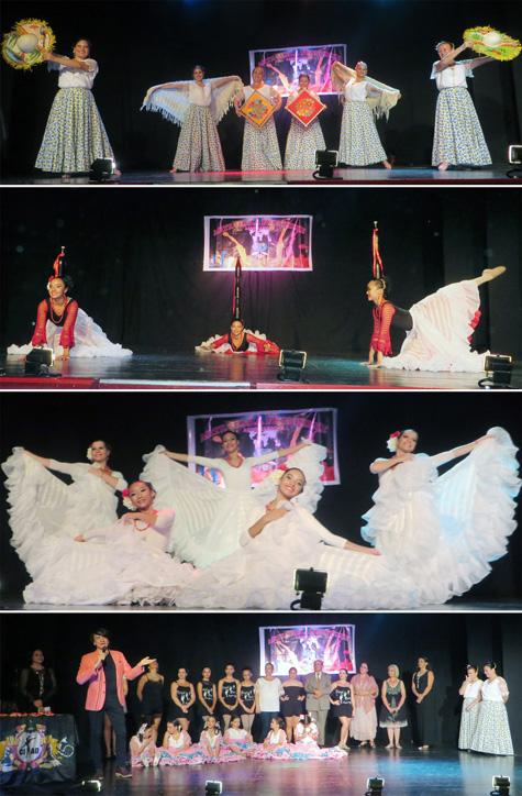 """Momentos del evento """"Bailarines sin fronteras"""" Valencia (España)"""