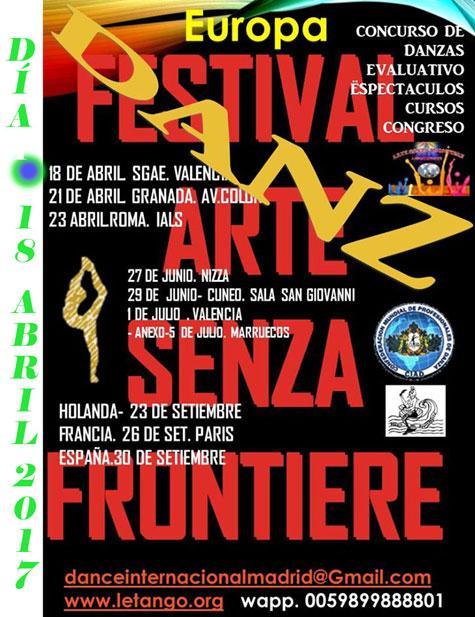 Festival Arte Senza Frontiere
