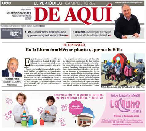 """De Aquí (periódico) con """"El Ventanuco"""""""