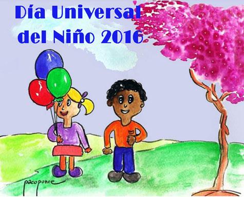 Día Mundial del niño 2016