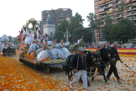 Batalla de Flores en Valencia