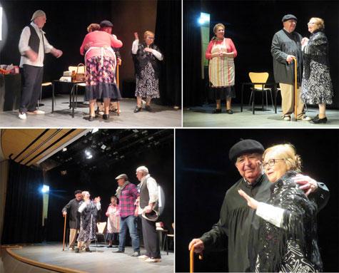 Cuadro artístico de teatro de la Casa Andalucía en Valencia