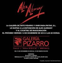 Alex Alemany en Galería Pizarro de Valencia