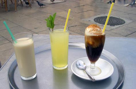 Horchata, Limos y Blanco Negro