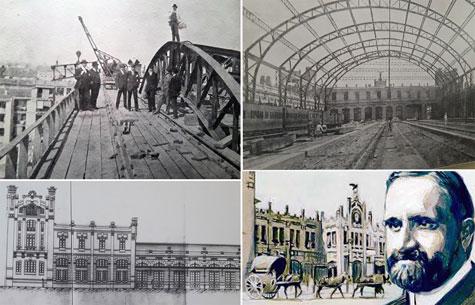 Imágenes de la construcción