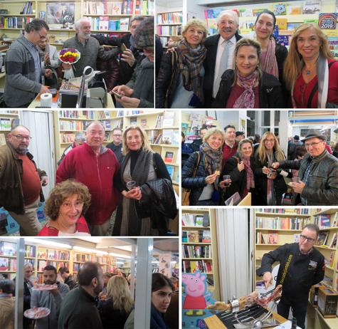Jubilación de Miguel Morata (Librero)