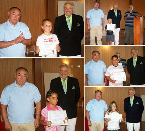 Premios escolares