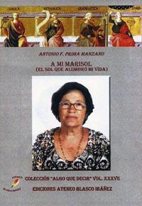 """""""A mi Marisol"""" Libro de Antonio Prima"""