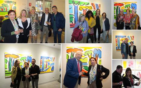 Momentos de la inauguración Galería SHIRAS