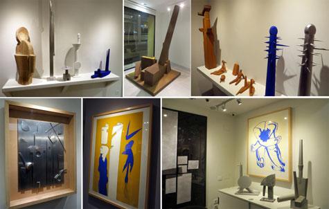 Momentos exposición Miquel Navarro