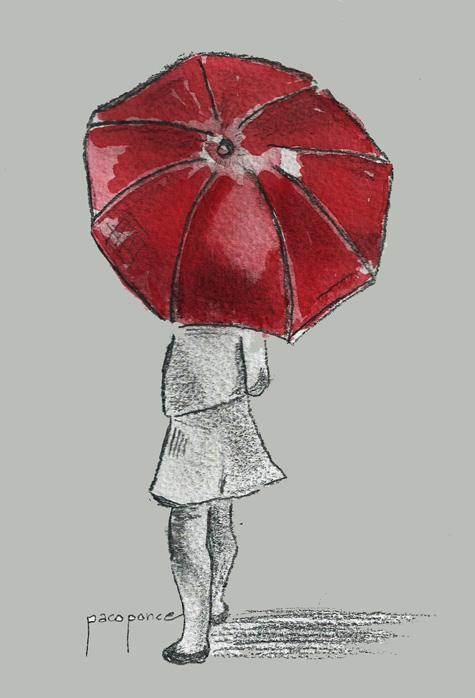 Dibujo- acuarela de pacoponce