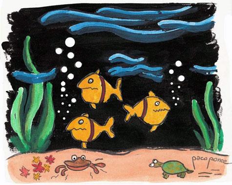 Biodiversidad dibujo de pacoponce