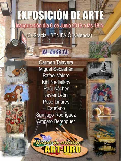 Exposición de pintura en Benifaió (valencia)