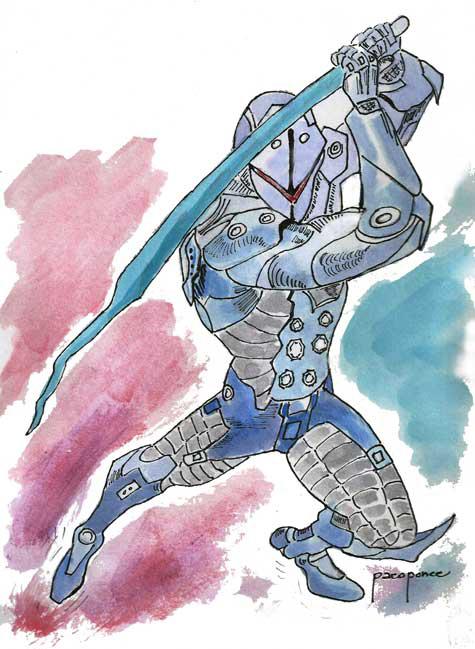 "El robot ""guerrero"""