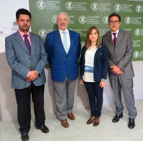 Carlos, Francisco, Serezade y José María