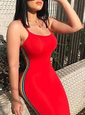 vestido rojo pasión