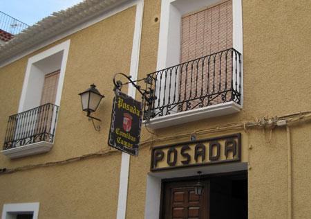 Típica posada en Lietor (Albacete)