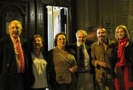 Francisco Ponce,Irene Estrada,Gloria Frutos,P.J.Peña,Vicente gallego,Angeles Chavarria