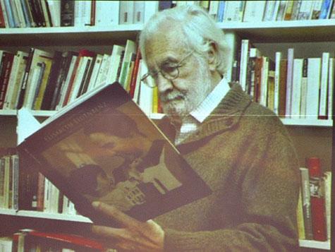 Imágenes que se proyectaron de Tomás Segovia