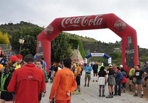 Preparando la salida de la IV Carrera-Marcha Montaña de Castellnovo