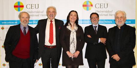 Presentación del fotolibro Guerreros en el CEU de Valencia