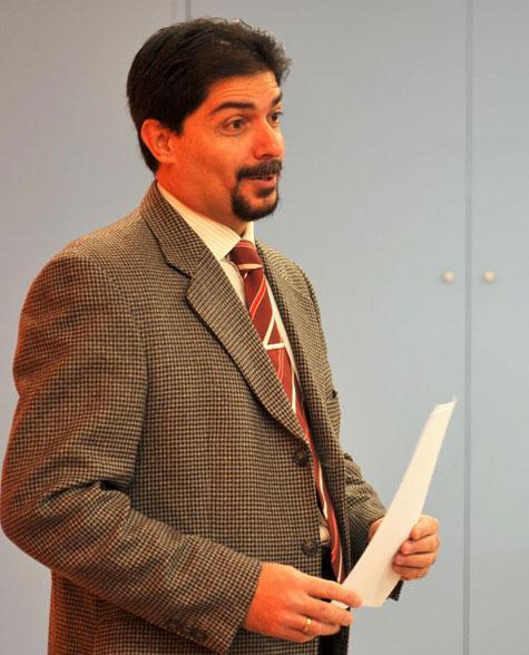 Presentó el evento Jorge Galeano