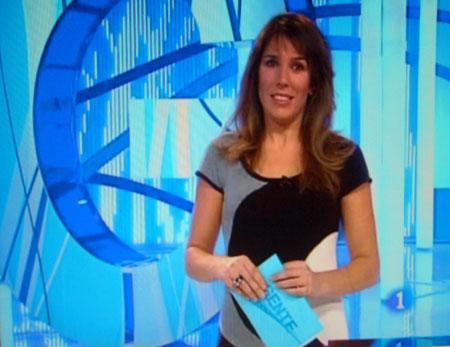 Presentadora de TV.