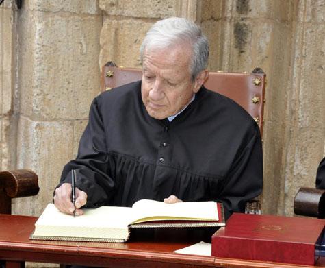 Pascual Sala  - Presidente del (TC)
