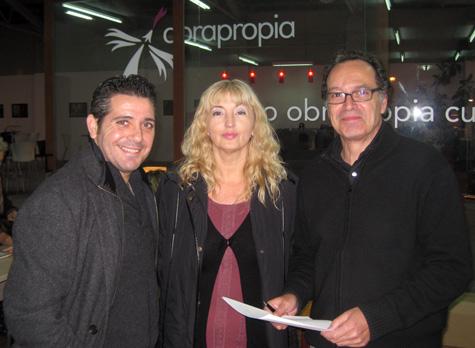 Sergio Arlandis - Elena Torres - Vicente Vercher
