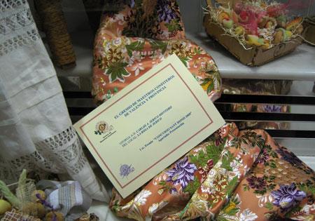 1º Premio escaparate pastelería 2009