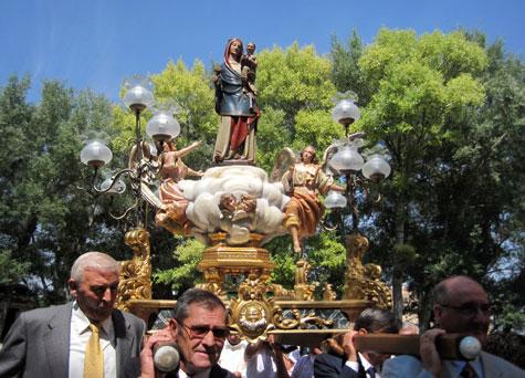 Procesión de la Virgen del Molino