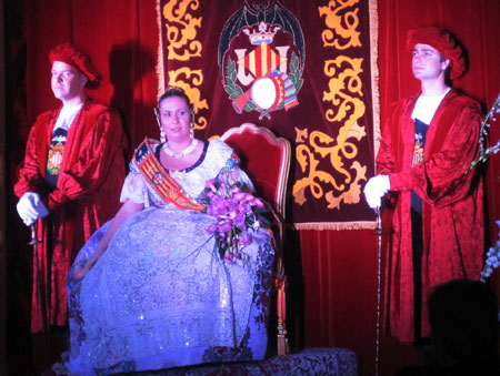 Proclamación como Fallera Mayor 2010 - Olga Senach