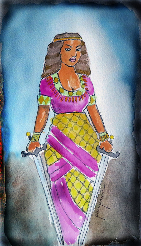 Reina madre de Atimon