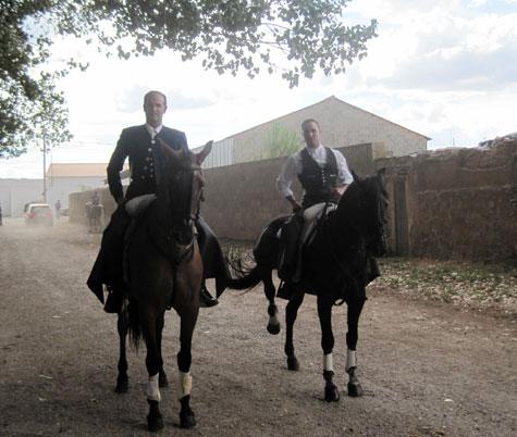 Juan Manuel Cordero y José Miguel Callejón (Rejoneadores)