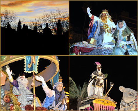 Sus Majestades los Reyes Magos de Oriente en Valencia