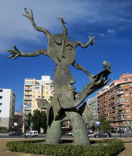 Lado del corazón - Escultura Ripollés