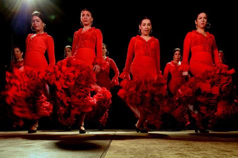Baile andaluz