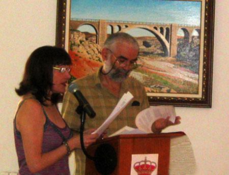 Rosa Montoliu y Miguel Morata