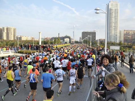 Maratón de Valencia, se inicia la aventura
