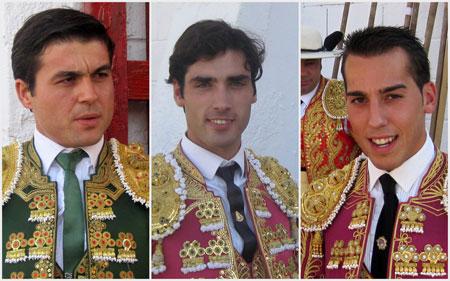 (Jesús de Natalia, Javier Antón y Carlos Duran)