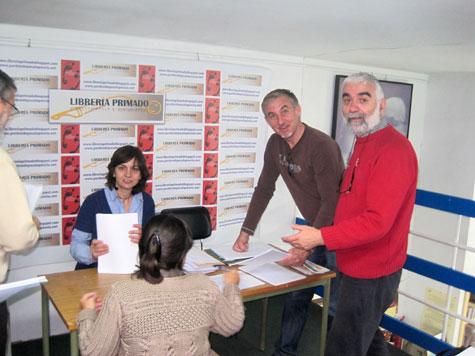 Ordenar los participantes - Librería Primado