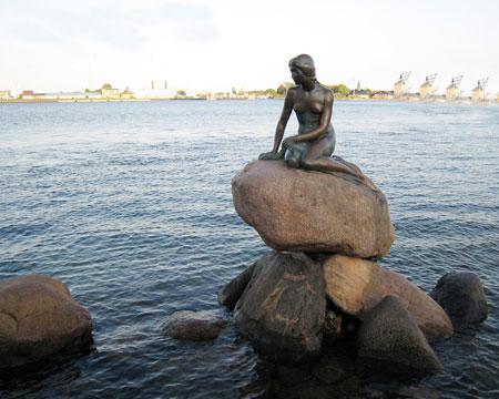 Sirenita, Copenhague, Dinamarca