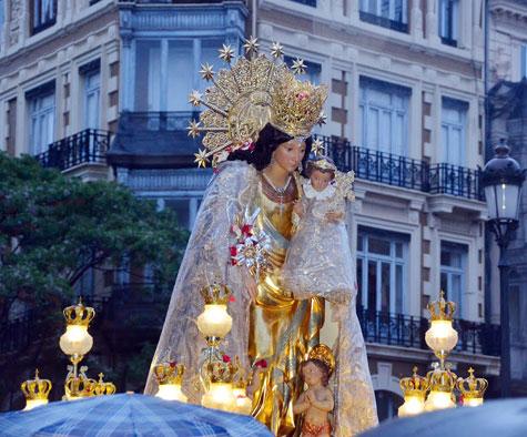 <<Mare de tots els valencians>>