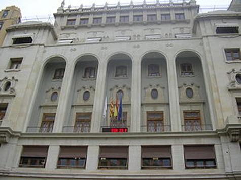Edificio del Ateneo Mercantil de Valencia