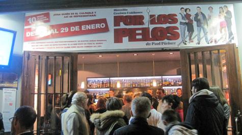 Entrada al teatro Flumen de Valencia