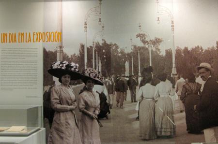 Un día en la exposición del 1909