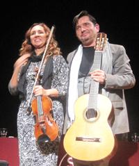 Anabel García del Castillo y José María Gallardo del Rey